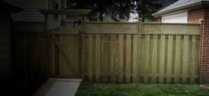 Landscaping fences