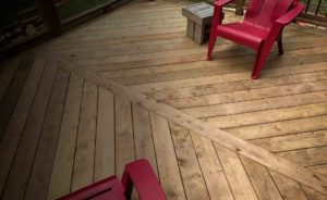 Landscaping Deck wooden